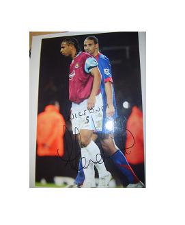 Anton Ferdinand West Ham United signed photo