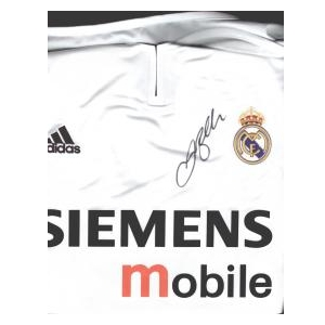 David Beckham Signed Real Madrid Shirt