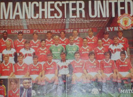 Manchester United magazine picture