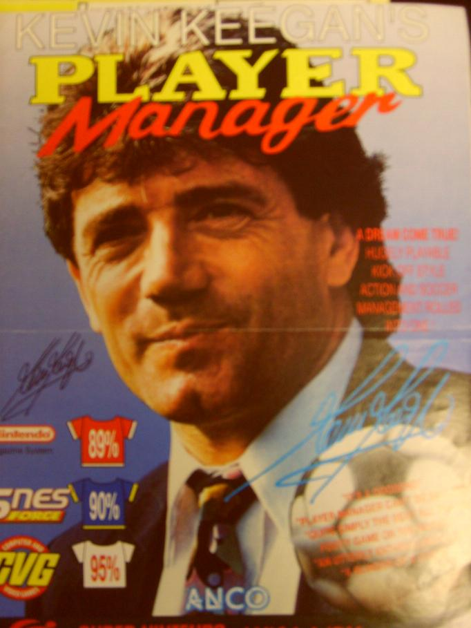 Keegan the manager signed