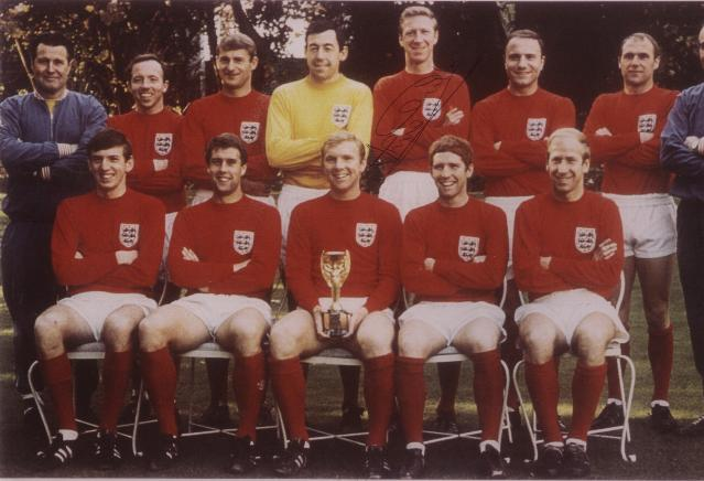 England 1966 Winners team picture