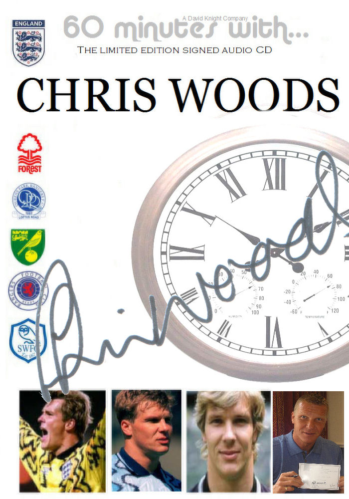 Chris Woods signed audio cd
