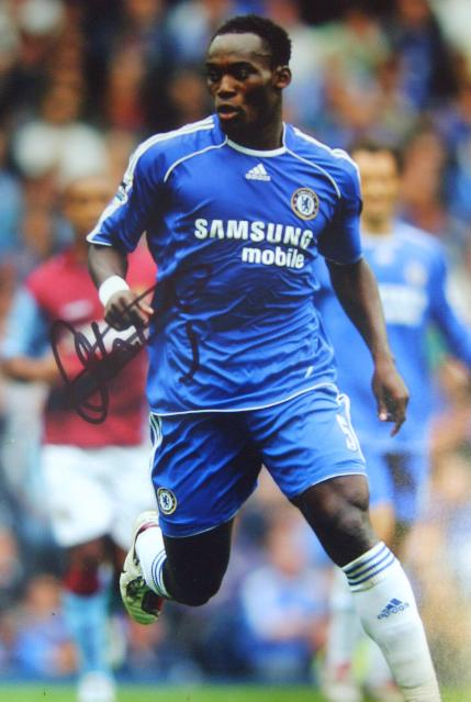 Chelsea star Michael Essien in action save £30