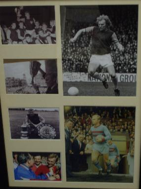 Bobby Moore unsigned collection of images