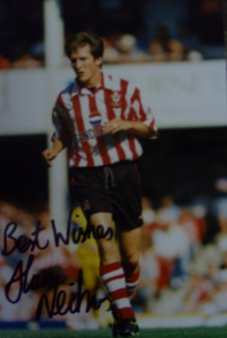 Alan Neilson signed photo