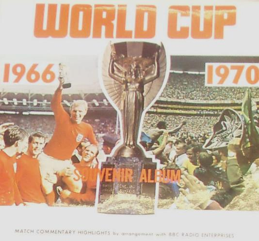 Album of  commentries from 1966 &1970 world cup signed by 9