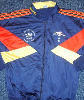 Kenny Sansom tracksuit worn at 1986/7 Littlewoods Cup Final