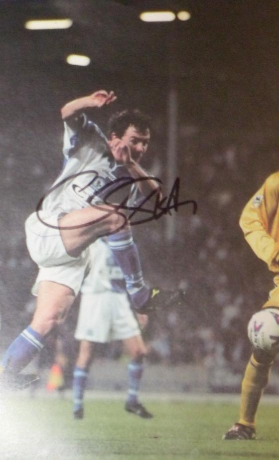 Chris Sutton signed picture