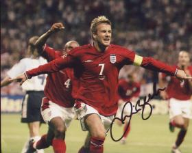 David Beckham in England Red Colours