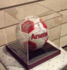 Arsenal Ball Signed by 2005-2006 Team