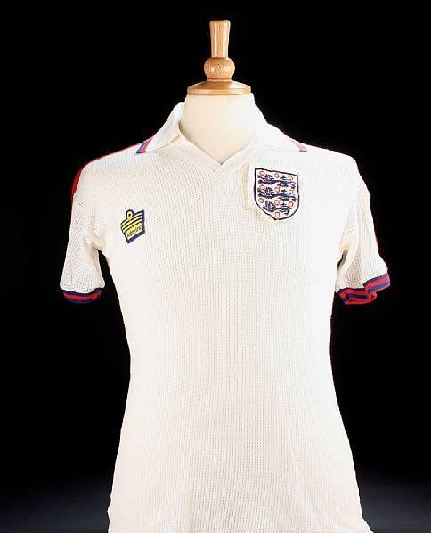 Alan Ball worn England shirt