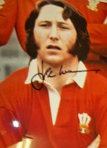 JPR Williams  signed photo