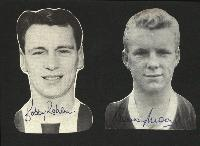Bobby Moore and Bobby Robson Signed Magazine Pictures