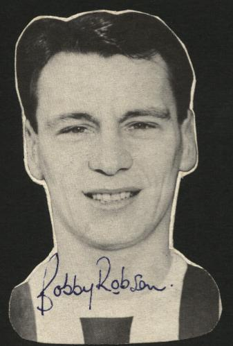 Bobby Robson early Signed Magazine Picture