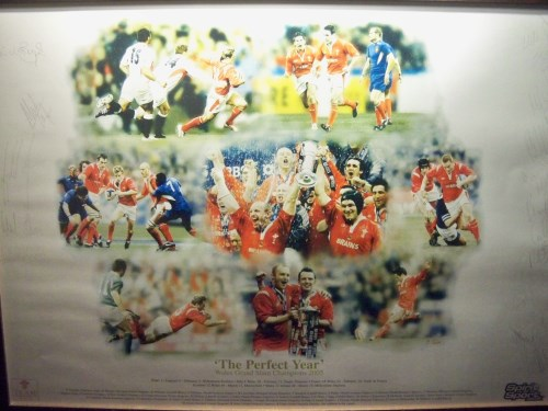 The Perfect Year - Limited edition signed print celebrating the 2005 Wales Grand Slam.