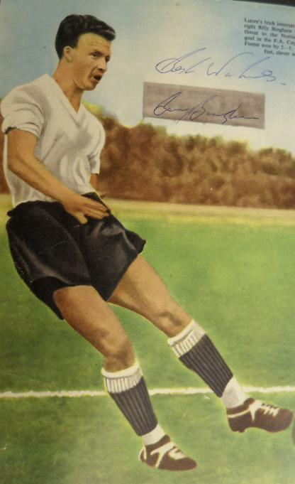 Billy Bingham signed image