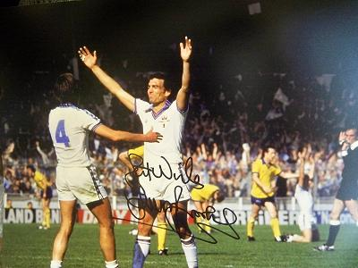 Sir Trevor Brooking signed FA Cup goal 1980 discount for quantity