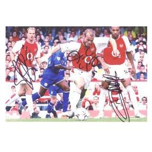 Arsenal's Ljunberg, Bergkamp and Henry.