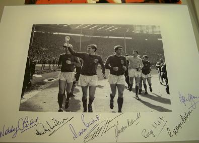 1966 image signed by 7 clearance