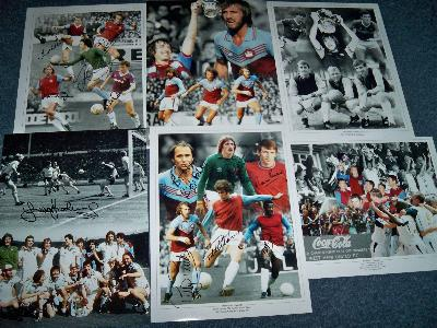 Clearance West Ham legends selection and images