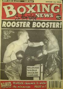 Henry Cooper signed Boxing News