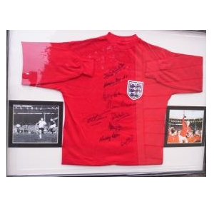 1966 Replica England Shirt (2) Signed by 9 Players  normally £450 now £295