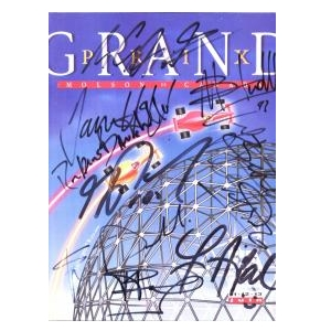 1993 signed Canadian Grand Prix programme