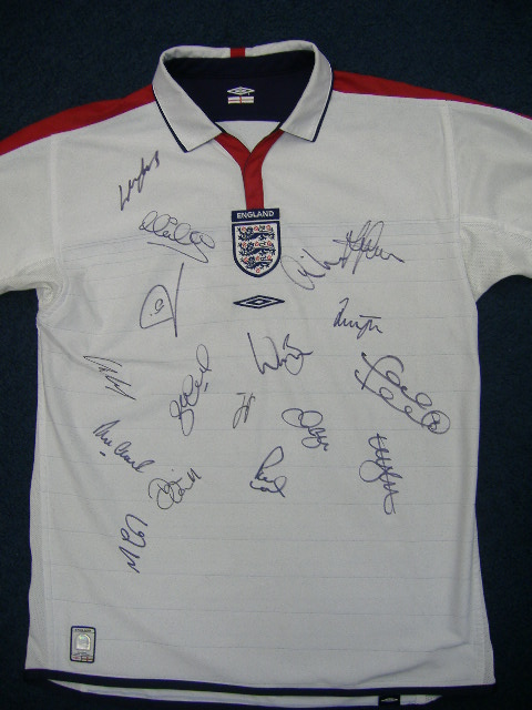 ENGLAND HOME SHIRT (#2)