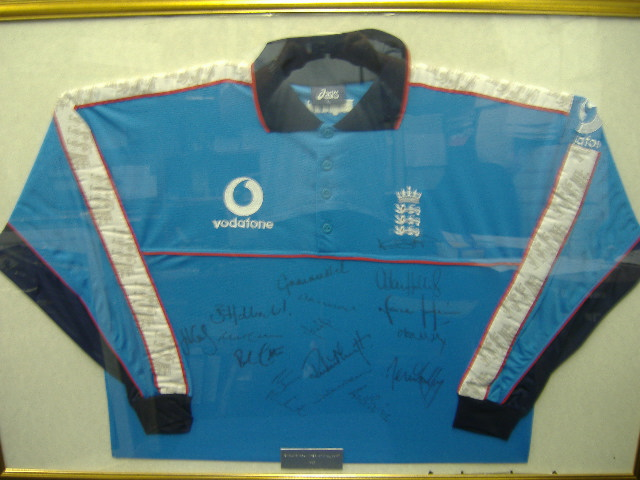 England signed Cricket Shirt 1999