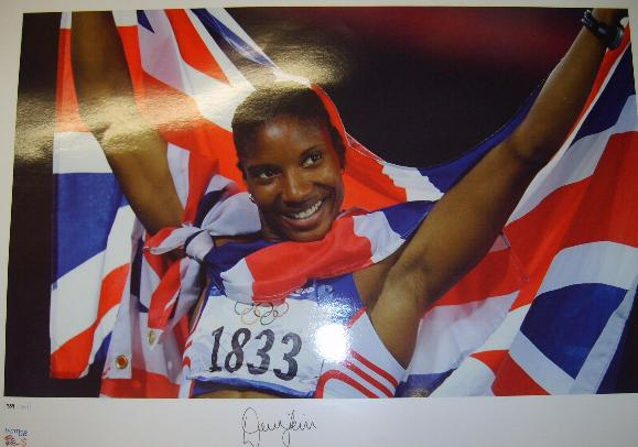 Denise Lewis Olympic gold