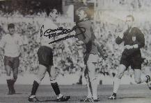 Dave Mackay signed picture