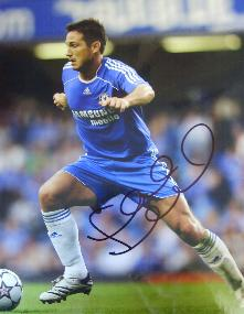 Frank Lampard  Chelsea star signed