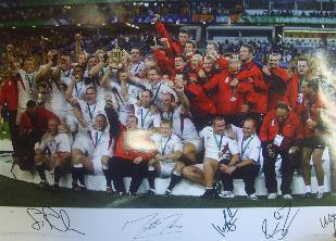 England Rugby World Cup Winners