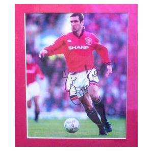 Eric Cantona Signed Photo