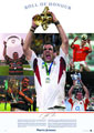 Martin Johnson England Rugby Captain signed
