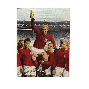 1966 picture signed by Geoff Hurst